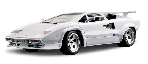 bburago lamborghini countach 5000qv 1 18 scale model. Black Bedroom Furniture Sets. Home Design Ideas