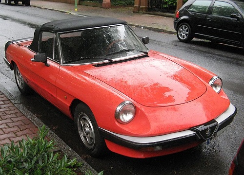 Alfa Romeo Spider, third generation, photo by Dirk Ingo Franke