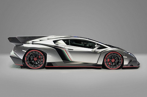 Lamborghini Veneno, the prototype, photo details