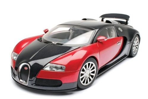 1:18 Autoart model of the Bugatti Veyron