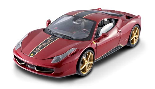 Hot Wheels Elite Ferrari 458 Italia China