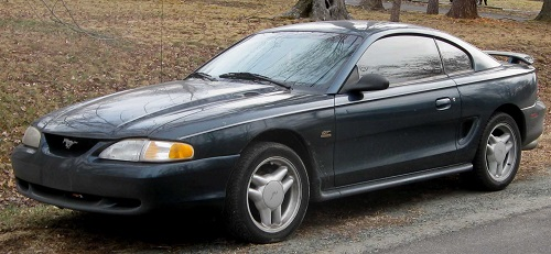 Fourth Generation Ford Mustang GT coupe